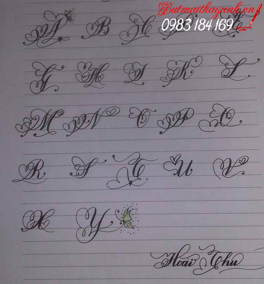 1930588 144070472651562 8689972812705302754 n - Luyện chữ đẹp nét chữ hoa sáng tạo, chữ nghệ thuật