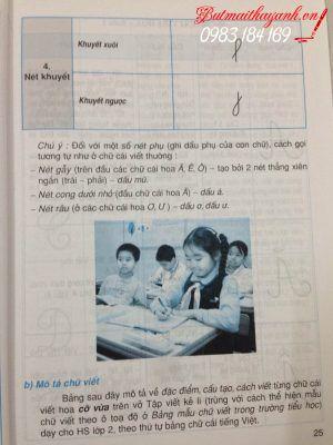 Dạy và học tập viết ở tiểu học