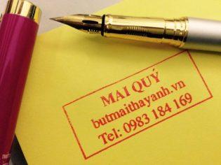 bút tự tạo thanh đậm