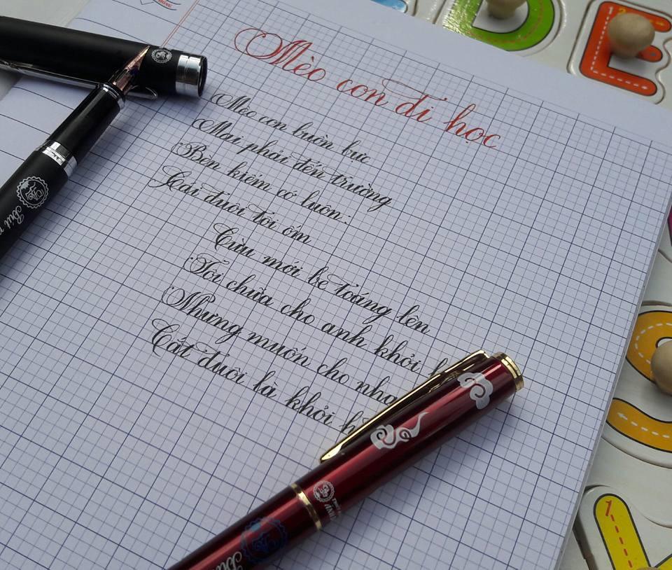 Chọn bút cho học sinh lớp 1