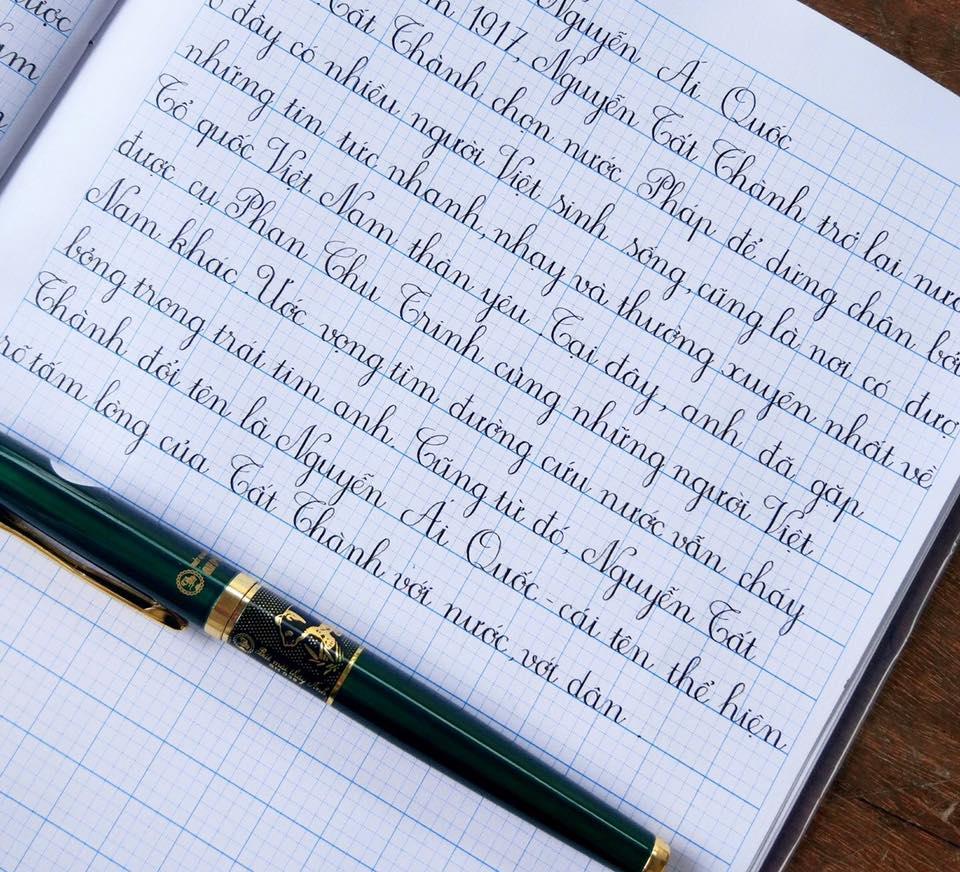luyen chu dep 1 - Bố mẹ phải làm thế nào để con hứng thú với việc luyện chữ đẹp?