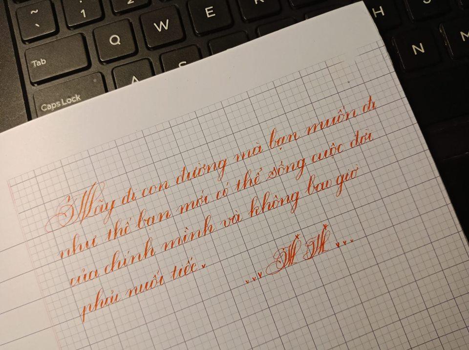 luyen chu dep 4 - Bí quyết giúp dạyviết chữ đẹp cho trẻ