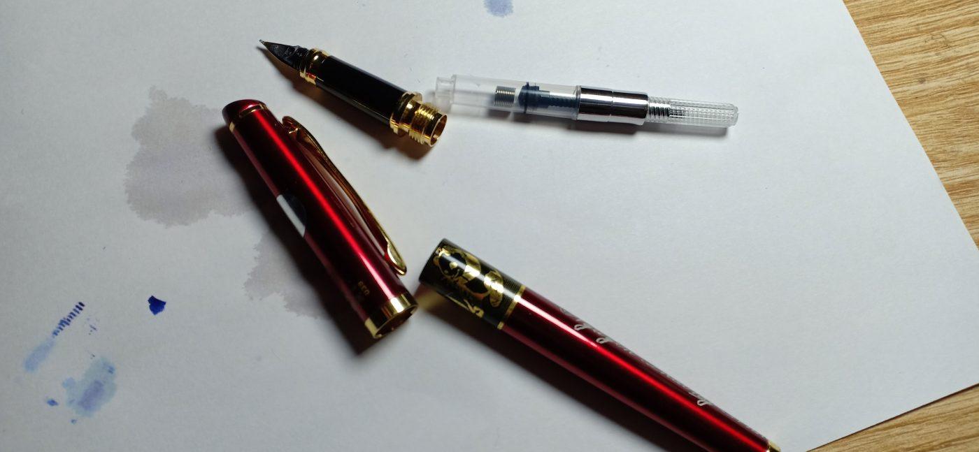cach rua but may 1 1400x647 - Cách rửa bút máy, sử dụng và bảo quản bút mài thầy Ánh