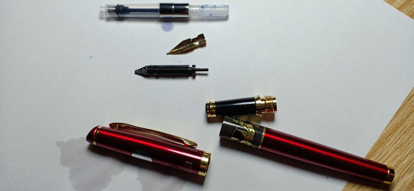 cách rửa bút máy