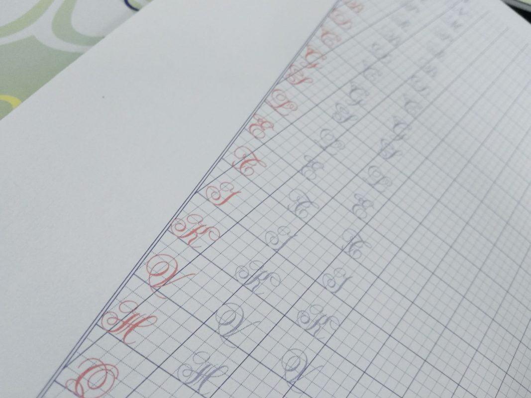 Vở mẫu chữ hoa cơ bản luyện chữ