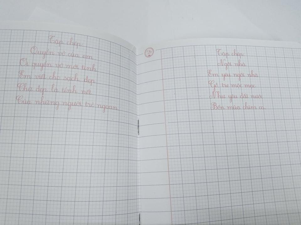 Vở tập viết lớp 1 quyển 3