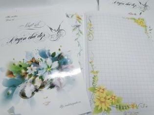 Vở nhật ký luyện chữ đẹp